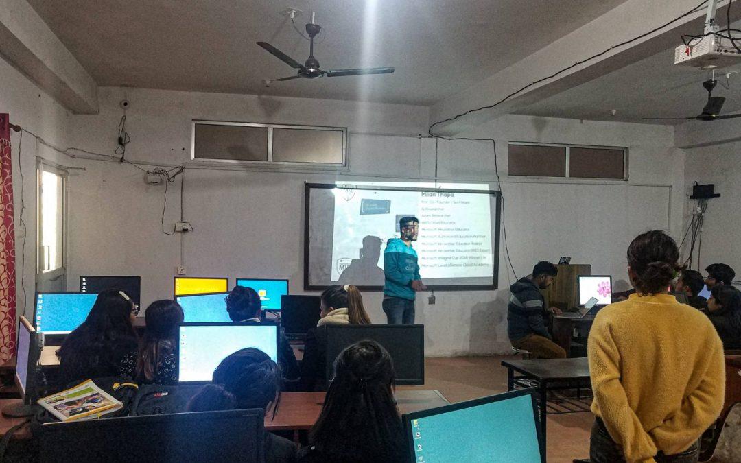 AWS Workshop in Tinau Technical College