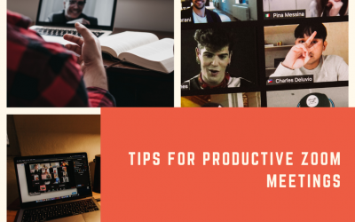 Top 5 Tips for Productive Zoom  Meetings